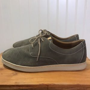 Men's Dunham Camden Oxford Perforated Leather Shoe